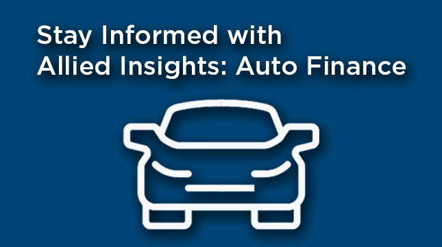 Allied Insights: Auto Finance Sign Up
