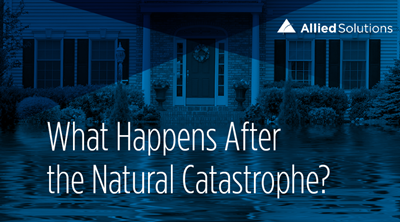 What happens after the natural catastrophe?