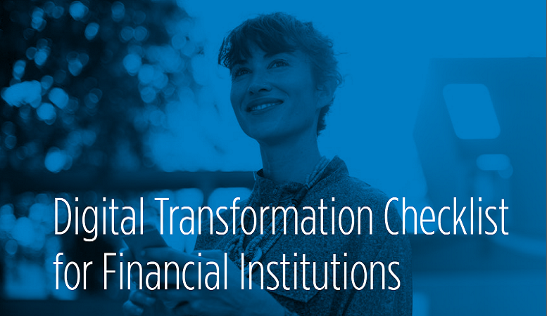Digital Transformation Checklist for Financial Institutions