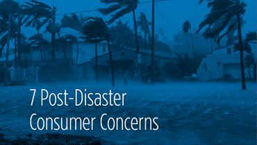 Post Disaster Consumer Concerns