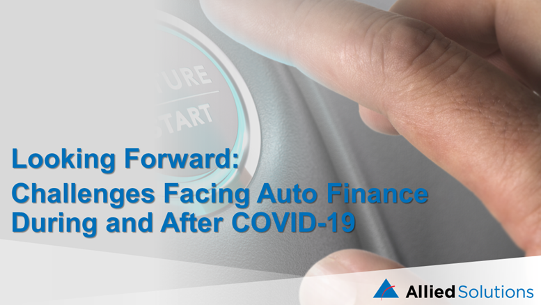 Looking Forward: Challenges Facing Auto Finance