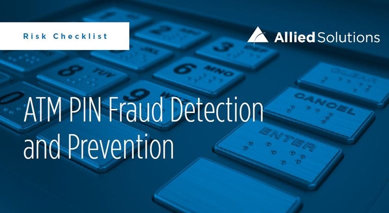 ATM PIN Fraud Protection Checklist Image