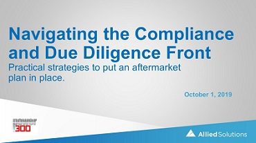 Navigating the Compliance Front