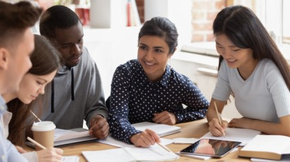 Students with credit union loan